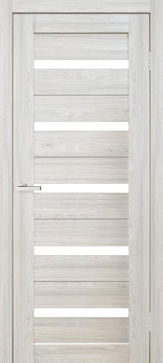 Полотно межкомнатной двери Omic Cortex 07, серый/дубовый, 200 см x 80 см x 4 см