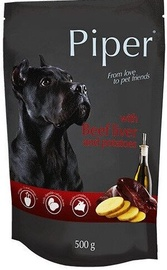 Dolina Noteci Piper Wet Dog Food Beef Liver & Potatoes 500g