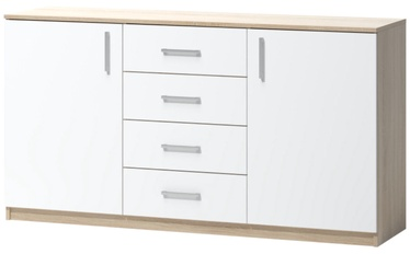 WIPMEB Tatris 04 Chest Of Drawers Sonoma Oak/White