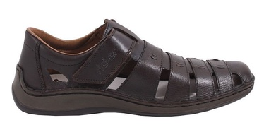 Rieker 05279 Leather Sandals Brown 45
