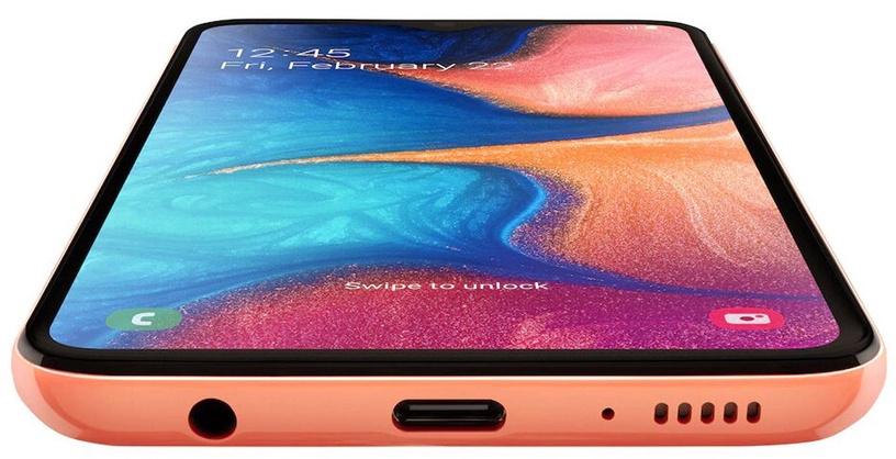 Mobilais telefons Samsung Galaxy A20e 2019 Coral, 3GB/32GB