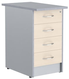 Skyland Office Drawer TP-4.2 Oak/Light Grey