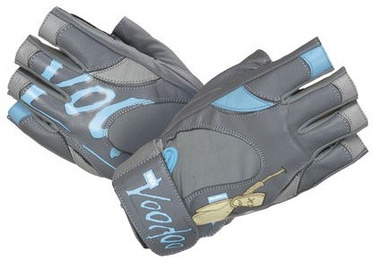 Mad Max Voodoo Gloves Grey Blue L