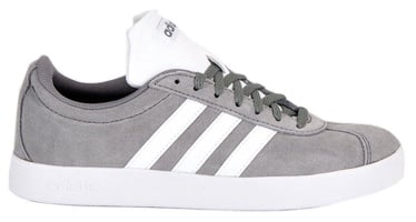 Adidas Inspired VL Court 2.0 Shoes Grey 42