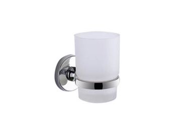Zobu birstes glāze Gedy Felce FE10 13, 9,5x9,5x6,3cm, matēta, balta