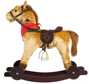 EcoToys Rocking Horse With Sound And Wheels GS2021W