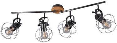 Trio Madras griestu lampa, 4x E27
