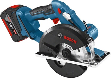 Bosch GKM 18 V-Li Cordless Circular Saw with 2 Batteries