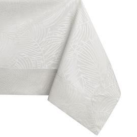 Скатерть AmeliaHome Gaia Cream, 130x130 см