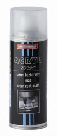 Inter Troton Acryl Spray Clear Coat Matt 400ml