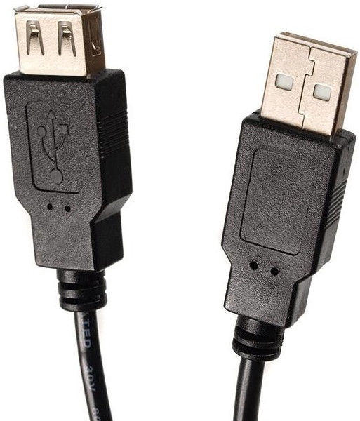 Maclean MCTV-745 USB A 2.0 Male To Female Cable 5m