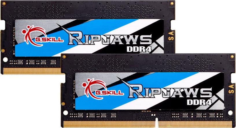 Operatīvā atmiņa (RAM) G.SKILL RipJaws F4-3200C22D-32GRS DDR4 (SO-DIMM) 32 GB