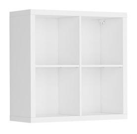 Black Red White Nepo Bookshelf White