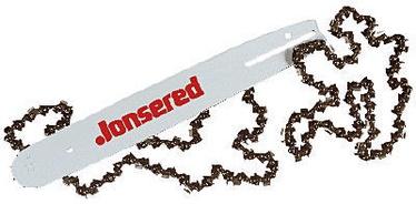 "Jonsered Rail + 2 Chains H25 13"" 0.325"" 1.5"