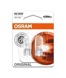 Automobilio lemputės Osram, 3 W, 12 V, W3W, W2.1x9.5D, 2 vnt.