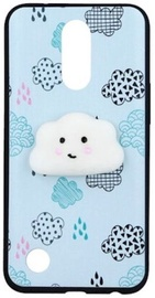 Mocco 4D Cloud Back Case For Samsung Galaxy A5 A520 Blue