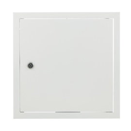 Glori ir Ko Access Panel 300x300 White With Key Lock