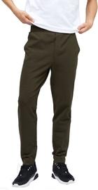 Audimas Tapered Fit Sweatpants Black Olive 176/L