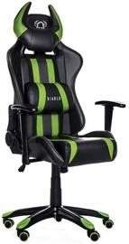 Žaidimų kėdė Diablo X-One Horn Black/Green
