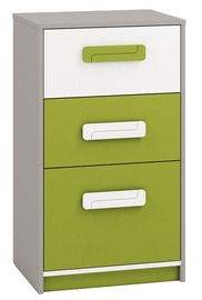 ML Meble Chest Of Drawers IQ 17 Green