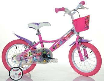 Vaikiškas dviratis Bimbo Bike Girl Butterfly 16'