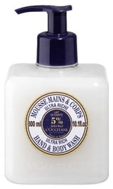 Šķidrās ziepes L´Occitane Shea Butter Ultra Rich, 300 ml