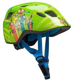 Cube Helmet Pebble Green Friends S
