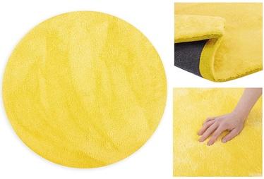 Paklājs AmeliaHome Morko, dzeltena, 80x80 cm