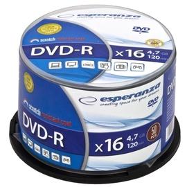 Esperanza 1109 DVD-R 16x 4.7GB Cake Box 50DVD's