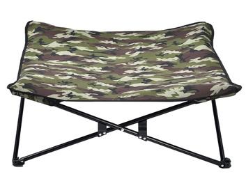 Кровать для животных VLX Pet Stretcher Army Print, зеленый, 800x800 мм