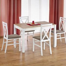 Pusdienu galds Halmar Maurycy Sonoma Oak/White, 1180 - 1580x750x760 mm
