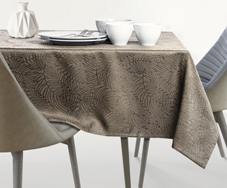 AmeliaHome Gaia AH/HMD Tablecloth Cappuccino 150x350cm