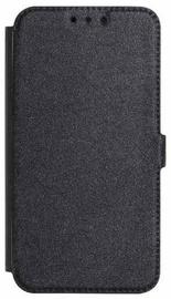 Mocco Shine Book Case For Huawei Y7/Y7 Prime 2018 Black