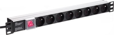 Netrack 125-19-02 PDU 19'' 230V/16A ALU Black