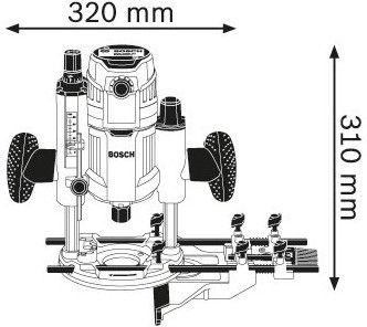 Bosch GOF 1600 CE Router