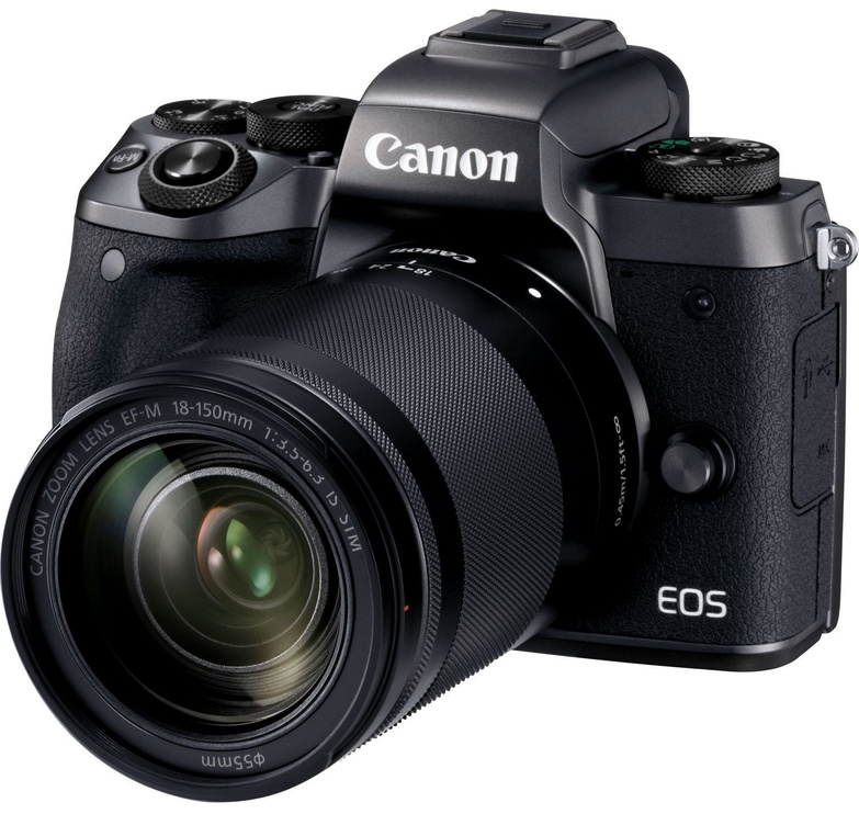 Canon EOS M5 + EF-M 18-150mm IS STM Black