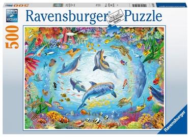 Dėlionė Ravensburger Cave Dive 164479, 500 dalių