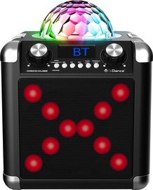 Belaidė kolonėlė iDance Disco Cube BC100L Black