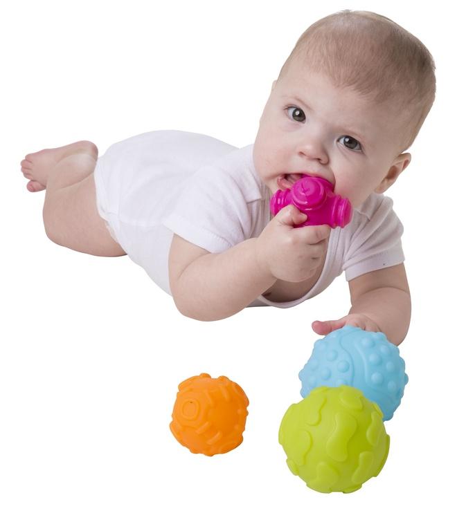 Playgro Textured Sensory Balls 4pcs 4087682