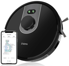 Zigma Spark Smart Robot Vacuum Cleaner Black