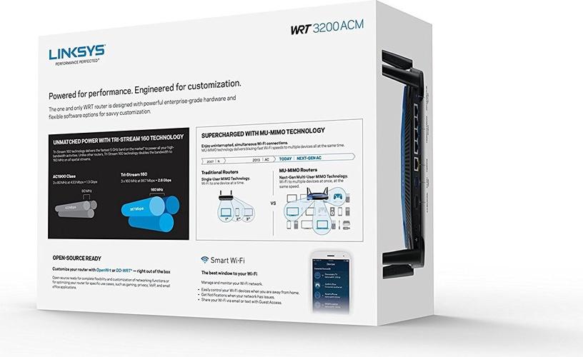 Liksys WRT3200ACM-EU AC3200 Router