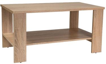 Kafijas galdiņš Signal Meble Modern Sara Oak Sonoma, 1000x550x500 mm