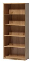 WIPMEB Tatris 14 Bookcase Wotan Oak