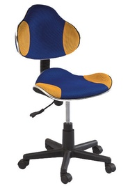 Signal Meble Q-G2 Office Chair Blue/Yellow