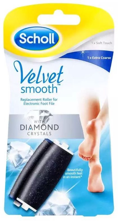 Scholl Velvet smooth Extra Coarse File Heads