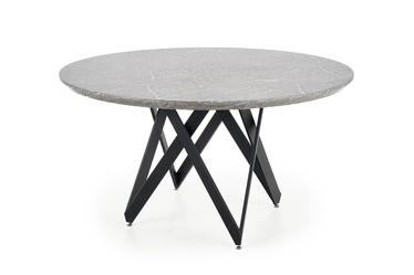 Обеденный стол Halmar Gustimo Grey, 1400x1400x770 мм