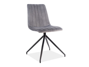 Signal Meble Alan II Velvet Chair Grey