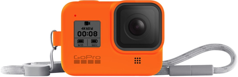 GoPro Sleeve + Lanyard For Hero8 Orange