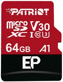 Patriot 64GB EP Series Micro SDXC V30