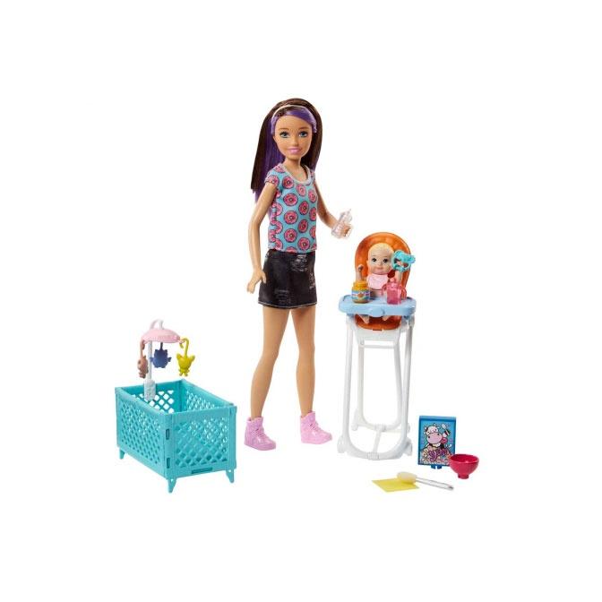 Lėlė Mattel Barbie Skipper Babysitters Playset FHY97